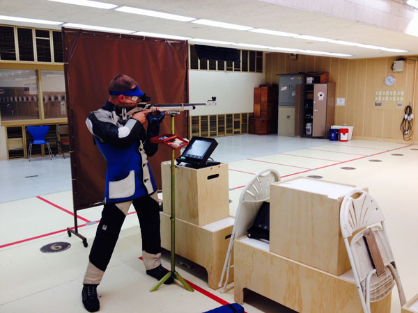CCSSEF Jr. Rifle Team Shooter