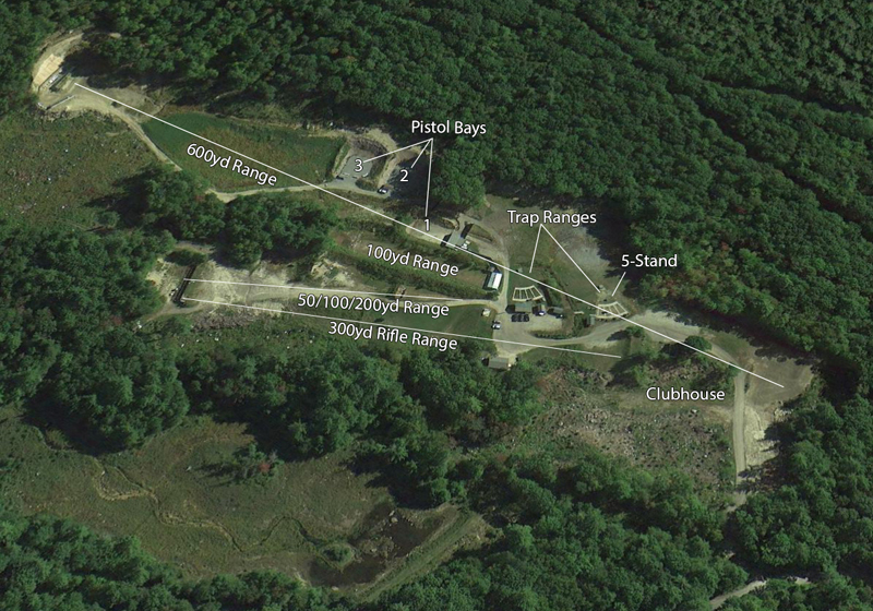Aerial View of CCF&G Ranges