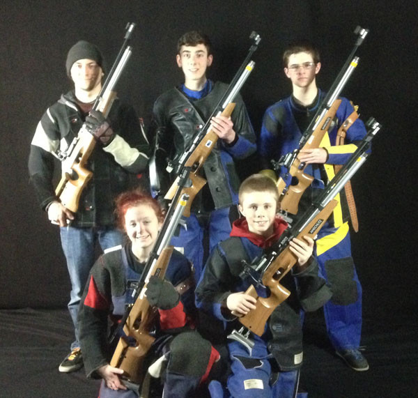 Ferry Brook Jr. Rifle Team