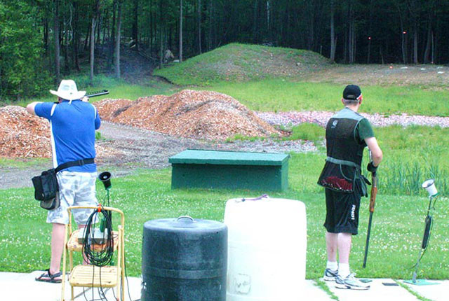 Trap Shooting at Cheshire County Fish and Game - Keene, NH