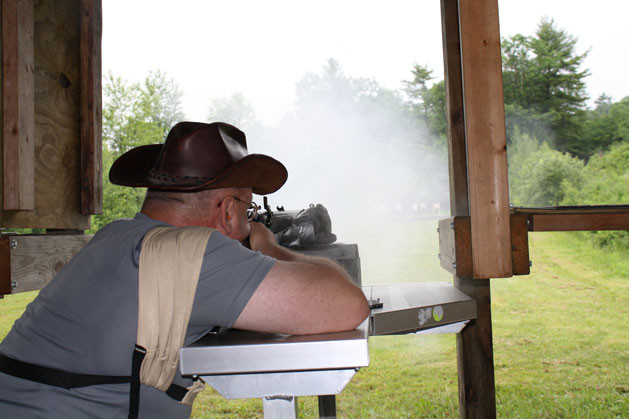 Black Powder Shoot at Cheshire County Fish and Game