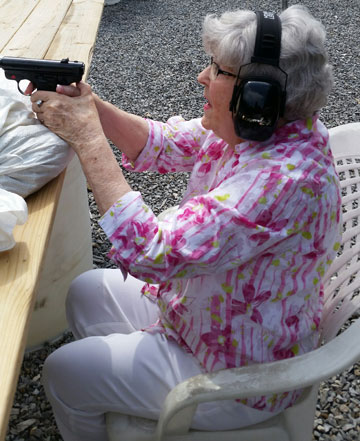 Plinking is fun – even for 91 y.o. great-grandmothers