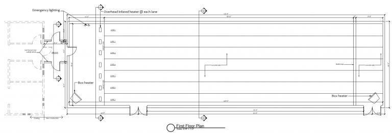 Indoor Range layout 2020