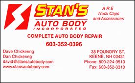 Dave Chickening | Stan's Auto Body